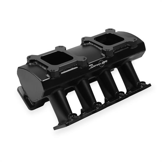 Holley Sniper 830072 Sheet Metal Intake Manifold, LS7, Black