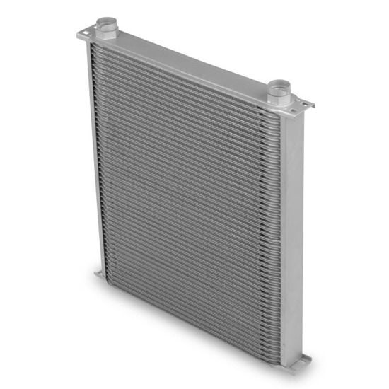 Earls 85000ERL Gray -10 AN 50 Row Oil Cooler, Extra Wide