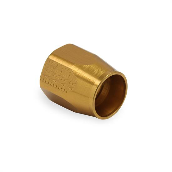 Earls 898063GERL -6 AN Swivel-Seal Auto-Fit Replacement Socket, Gold