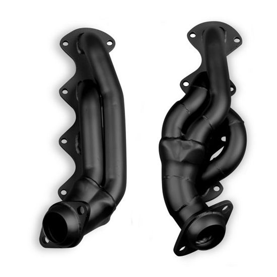 Flowtech 91673FLT Shorty Headers, 2004-08 Ford F-150, 5.4L, Painted