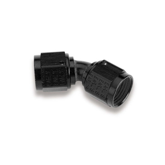 Earls AT939216ERL 45 Degree -16 AN Female to Female Swivel Adapter