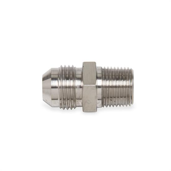 Earls SS981607ERL Straight -8 AN Male to 1/4 Inch NPT