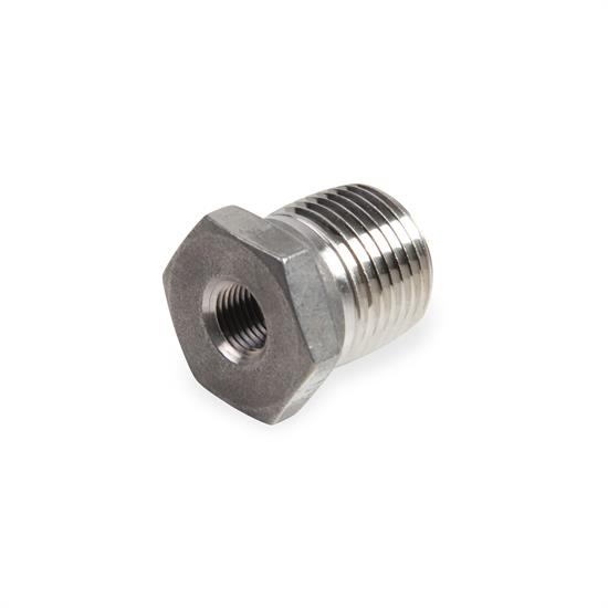 Earls SS991205ERL 1/4 In NPT to Male 1/2 In NPT Pipe Bushing Reducer