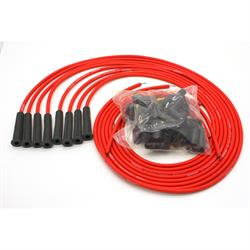 PerTronix 808480 Flame-Thrower Spark Plug Wires, 8 Cyl, Universal, Red