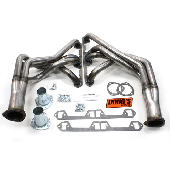 Doug's Headers D104-R Full Length Header 1-7/8 In, 68-74 Javeline, Raw