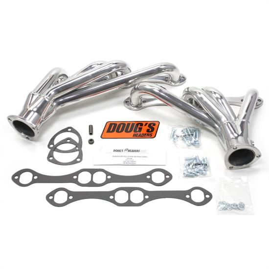 Doug's Headers D3320 Shorty Header, 1-5/8 In, 82-92 Camaro, CC