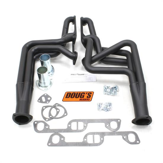 Doug's Headers D570-B Full Length Header 1-3/4 In, 70-81 Firebird, Blk