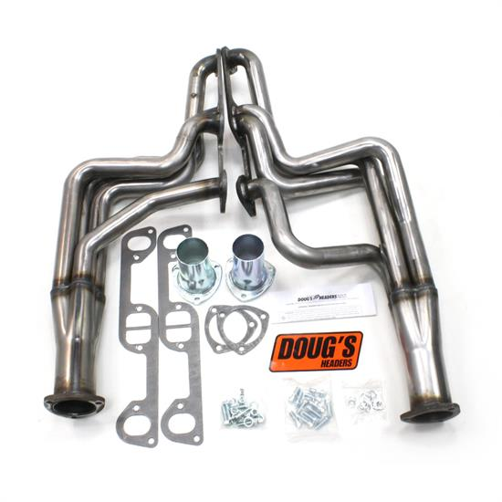 Doug's Headers D590-R Full Length Header, 1-3/4 In, 68-72 GTO, Raw