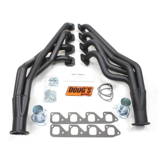 Doug's Headers D6714-B Full Length Header 1-3/4 In, 71-73 Mustang, Blk