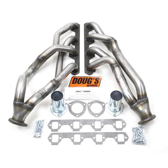 Doug's Headers D690YS-R Tri-Y Header, 1-5/8 In, 64-70 Mustang, Raw