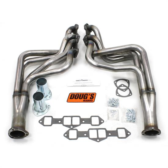 Doug's Headers D741-R Full Length Header, 1-3/4 In, 65-75 Cutlass, Raw