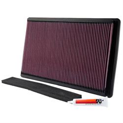 K&N 33-2035 Lifetime Performance Air Filter, Chevy 5.7L, Pontiac 5.7L