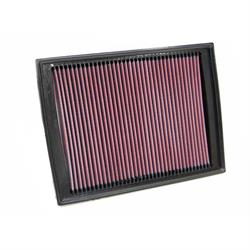 K&N 33-2333 Lifetime Performance Air Filter, Land Rover 2.7L-4.4L