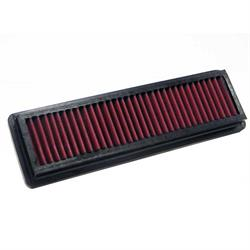 K&N 33-2502 Lifetime Performance Air Filter, Fiat 2.0L, Lancia 2.0L