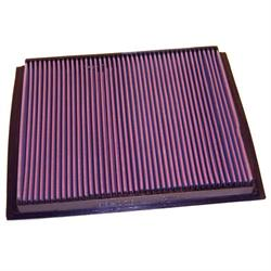 K&N 33-2764 Lifetime Performance Air Filter, Mercedes Benz 2.1L-2.9L