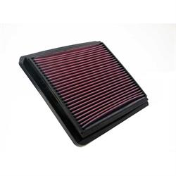 K&N 33-2800 Lifetime Performance Air Filter, Daewoo 2.0L-2.2L