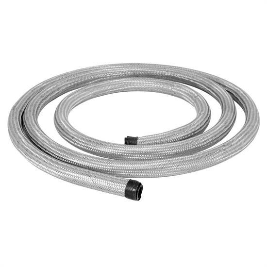 Spectre braided stainless steel flex heater hose