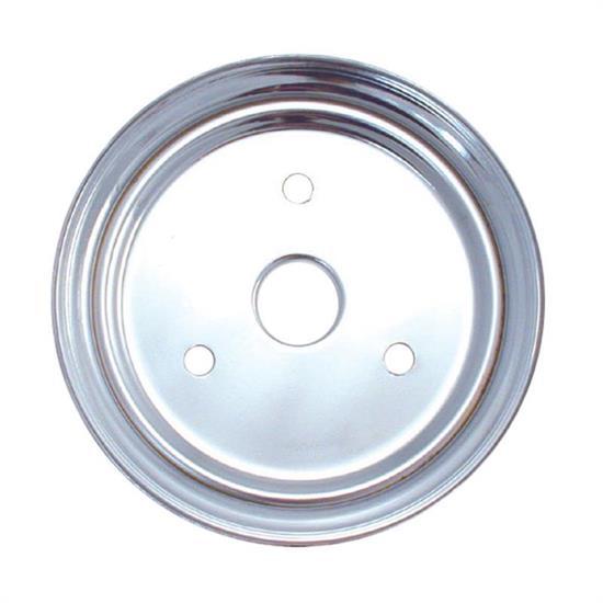 Spectre 4388 Chrome Crankshaft Pulley, Chevy 265-350, GMC