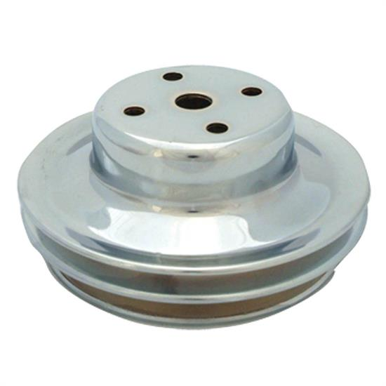 Spectre 4498 Chrome Water Pump Pulley, Chevy/GMC 396-454
