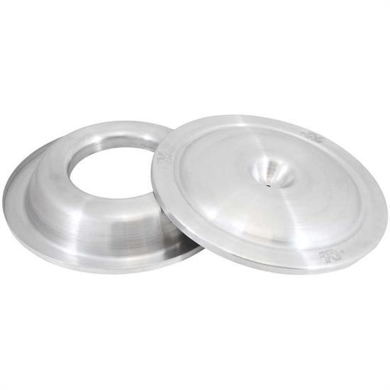 16 Inch Air Cleaner : K n inch spun aluminum air filter top base plate
