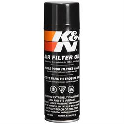 K&N 99-0504 Air Filter Oil, Filtercharger, 6.5oz Aerosol