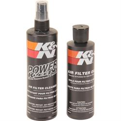 K&N 99-5050 Air Filter Care Service Kit, Pump/Squeeze Bottles