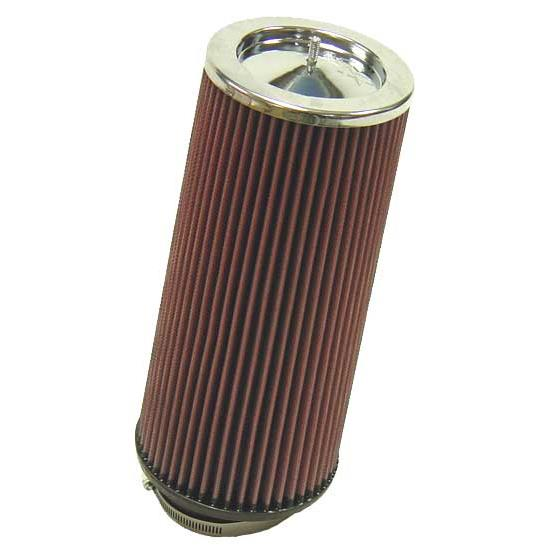 12 Round Air Cleaner : K n rf air filter in tall round tapered