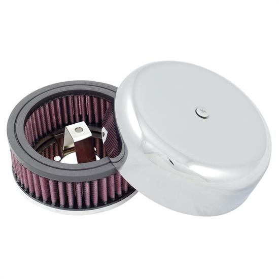 Dirt Late Model Air Cleaner : K n rl b air filter in tall red round