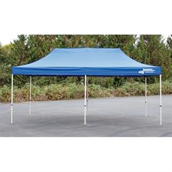 Longacre 20003 Pop-Up Racing Pit Canopy, 10 x 20 FT, Blue