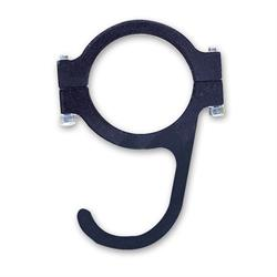 Longacre 22576 Steering Wheel Hook, Clamp On, For 1-3/4 Inch Roll Bar