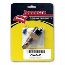 Longacre 43400 300 Deg. Oil Temp 3/8 in. NPT Sender Only