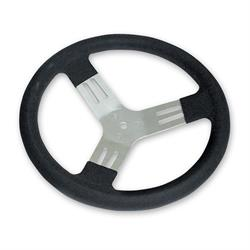 Longacre 56830 13 in. Kart Steering Wheel - Black
