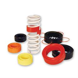 Longacre 61015 Coil-Over Spring Rubber - Orange
