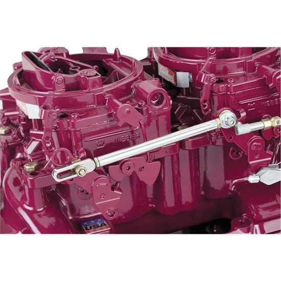 Carburator Cables Automotive : Lokar tcb plr edelbrock carb progressive linkage kit
