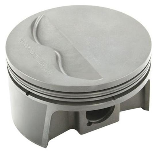 MAHLE Small Block Chevy 383 Flattop Powerpak Pistons, 6 Inch Rods