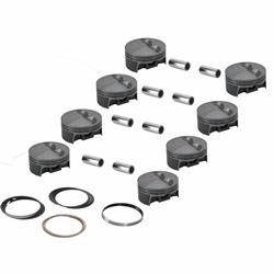 Mahle Pistons Forged Flat Top Pistons, SBC, 3.75 Stroke
