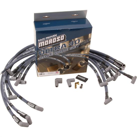 Moroso 73616 Custom Fit Ultra 40 Bb Chevy Spark Plug Wires