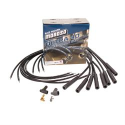 Moroso Ultra-40 Racing Spark Plug Wires, Low Resistance, Straight