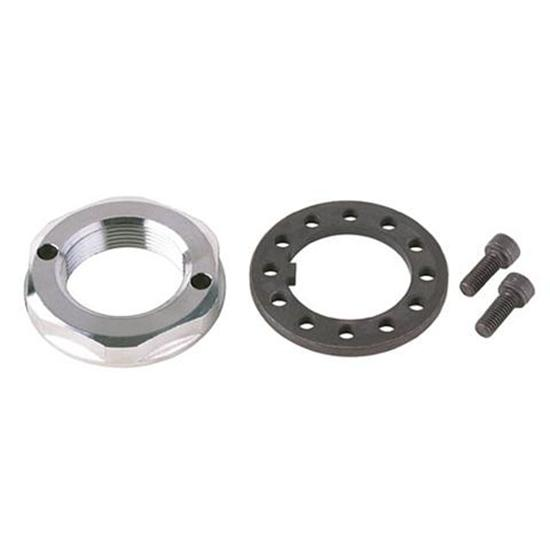 Aluminum Posi-Lock Spindle Nuts - Fine