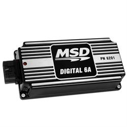 MSD 62013 Digital 6A Ignition Control, Black
