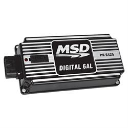MSD 64253 Digital Ignition Contorl w/Rev Control, 6AL, Black