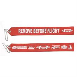 Mr Gasket 6001 Remove Before Fligh Warning Flight, 2 x 16 Inch