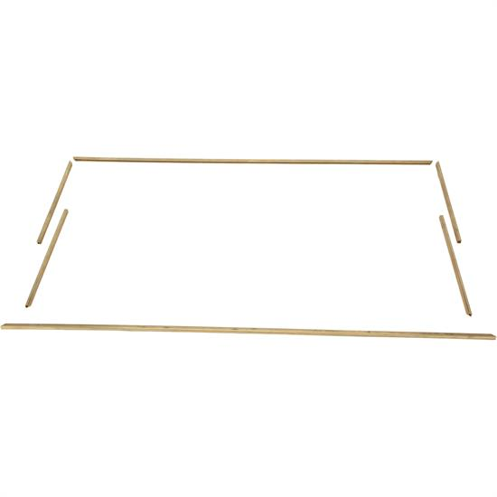 1923-25 Ford Model T Brass Glass Setting Channel for Open Cars