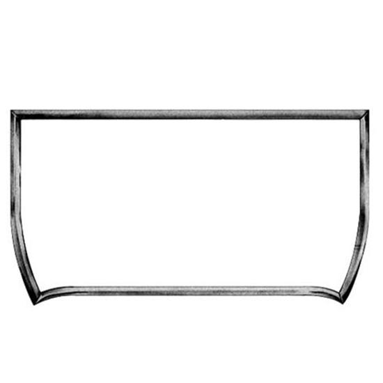1926-1927 Model T 4 Inch Chopped Roadster Windshield Frame, Plain