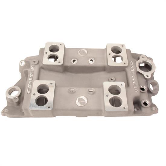 Offenhauser 5024-3B Four Carburetor Pacesetter Intake Manifold