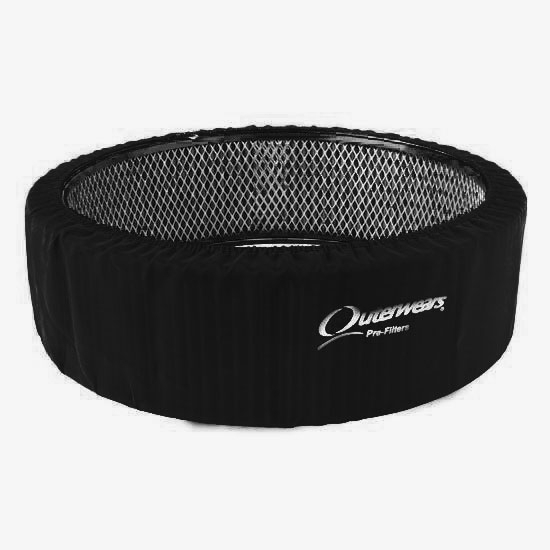 Dirt Late Model Air Cleaner : Outerwears inch tall air cleaner pre filter