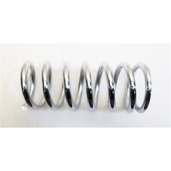 Garage Sale - Chrome Coil Over Spring, 2-1/2 ID, 9 Inch, 200 lbs.