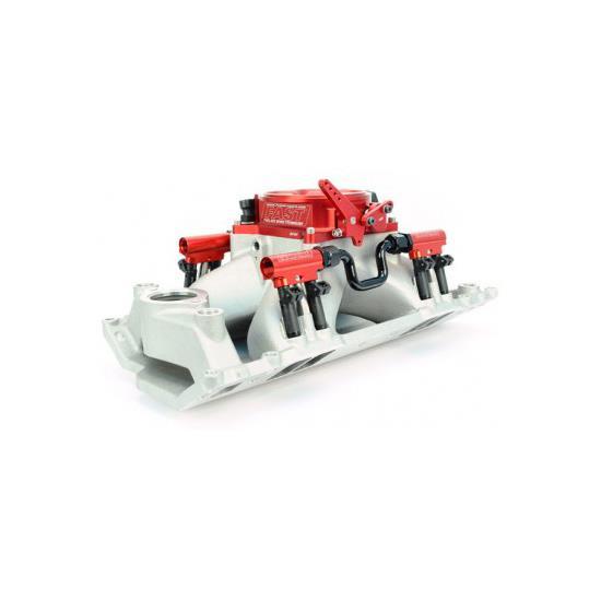 RHS 12903-KIT SBC EFI Single Plane Intake Manifold W/Fuel