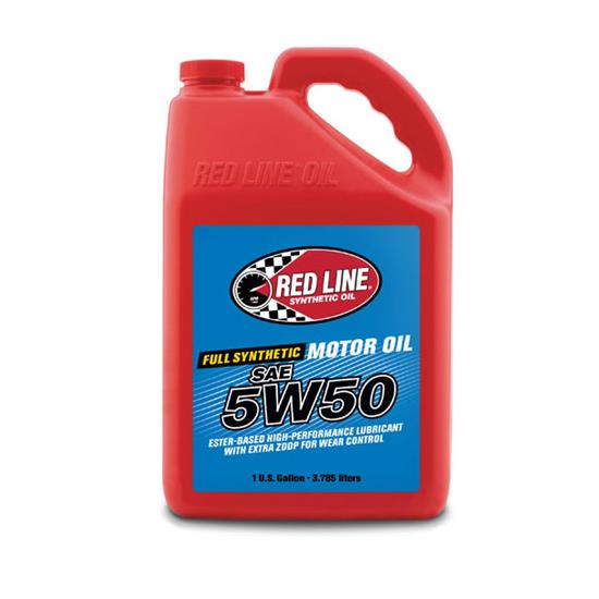 Red line 11605 50w50 synthetic motor oil gallon for 3 in one motor oil