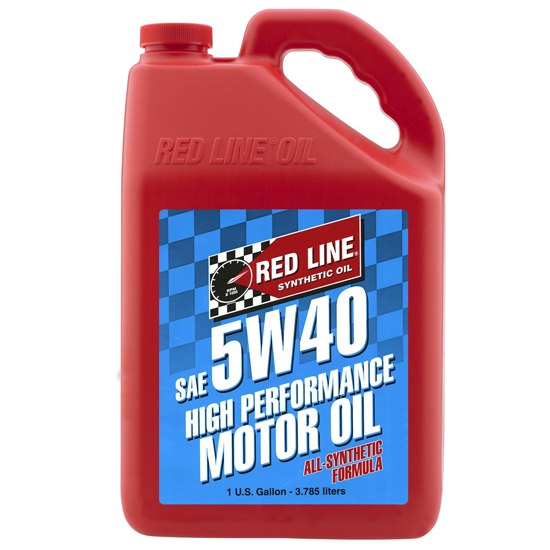 Red Line 15405 5w40 Synthetic Motor Oil Gallon